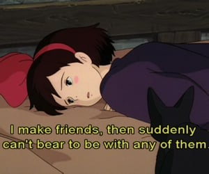 anime, quotes, and friends image