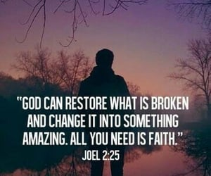 god, faith, and bible image