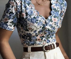 fashion, floral, and summer style image
