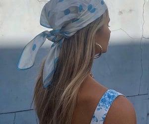 fashion, bandana, and blonde image