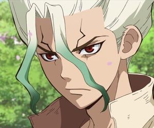 anime, dr. stone, and senku image
