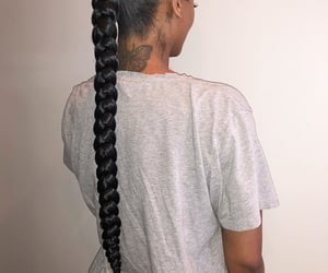 black women, hair, and goals image