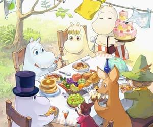 cake, lilla my, and moomin image