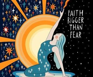 faith, illustration, and positivity image