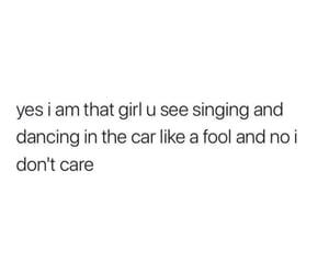 car, dancing, and fool image