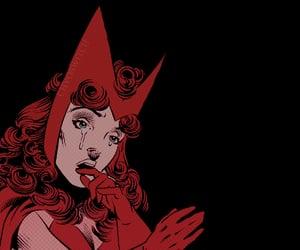 scarlet witch, wanda maximoff, and comic wanda image