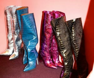boots, disco, and fashion image