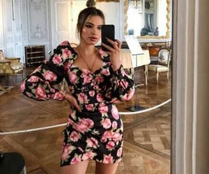 dress, girly, and fashion girl image