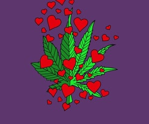 weed, 420, and background image