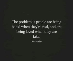 fake, hatred, and life image