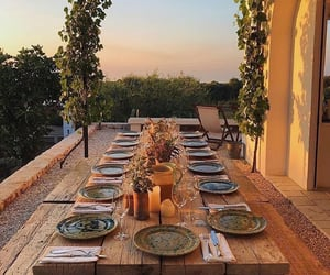 backyard, place, and place setting image