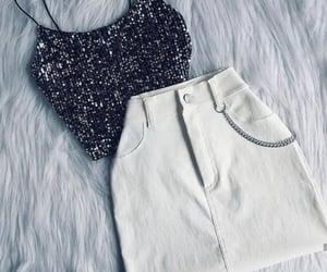 blanca, verano, and falda image
