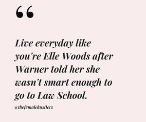 elle woods, harvard, and Law image