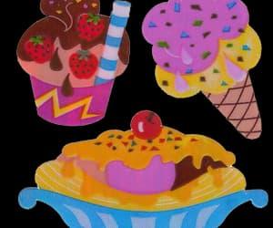 deco, editing, and ice cream image