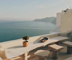 summer, Greece, and ocean image
