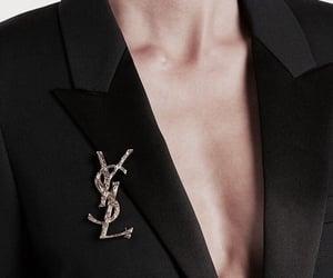 YSL, black, and fashion image