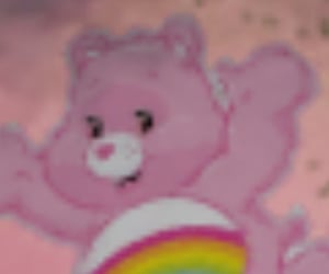 90s, aesthetics, and care bears image