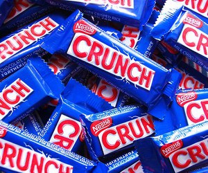 crunch, chocolate, and candy image