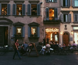 aesthetic, cafe, and europe image