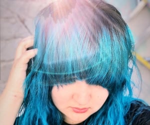 hair, colorhair, and alternative girl image