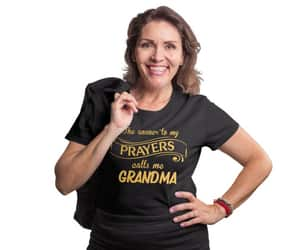 etsy, mothers day gift, and grandma tee image