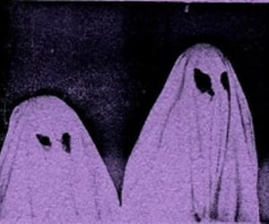 ghost, purple, and grunge image