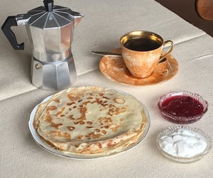 coffee, retro, and crepes image