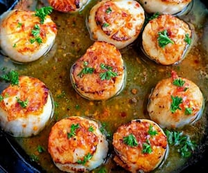 food, weheartit, and scallops image