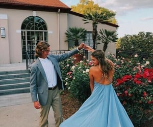 couple, Prom, and couole image