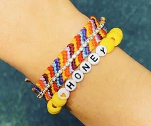 arm candy, bracelet, and honey image