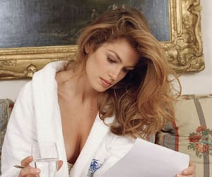 80s, celebrities, and cindy crawford image