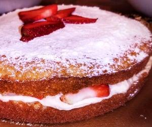 cake, sugar, and tripoli image