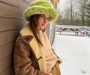 gala, winter, and hat image