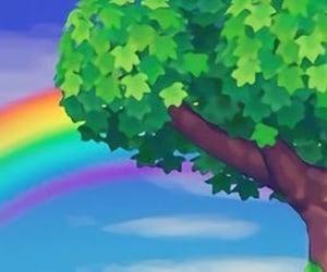 header, rainbow, and twitter image
