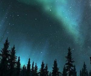 aesthetic, aurora borealis, and beautiful image