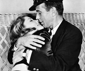 black & white, Lauren Bacall, and retro image