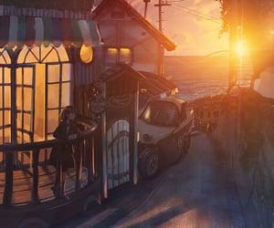 aesthetic, anime, and animescenery image