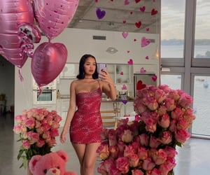 flowers, roses, and all pink image