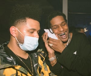 xo, the weeknd, and asap rocky image