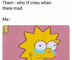 cry, funny quotes, and relatable image