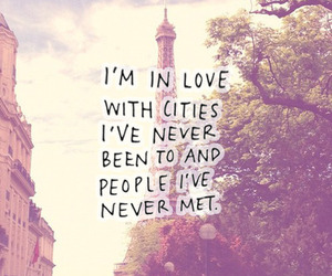 love, city, and paris image