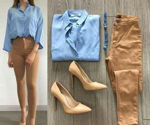 fashion girl, heels, and outfits image