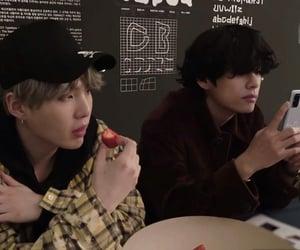 kpop, yoongi, and taehyung image