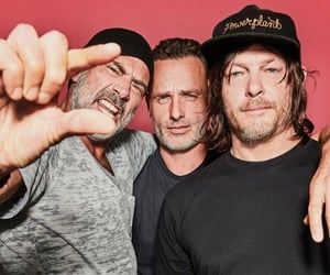 hot guys, norman reedus, and rick grimes image