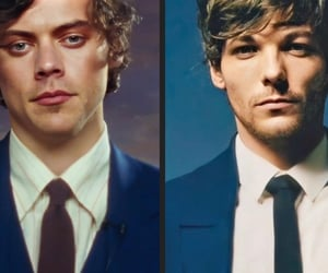 parallels, Harry Styles, and louis tomlinson image