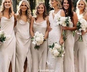 bridesmaid dress, wedding party dress, and cheap bridesmaid dress image