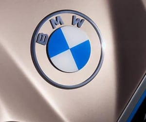 luxury car and latest bmw logo image