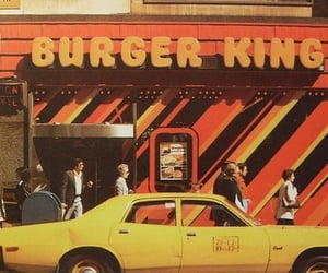 vintage, burger king, and retro image