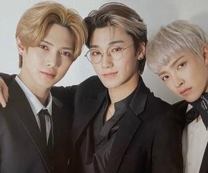 ateez, san, and hongjoong image