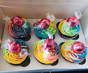 colourful, rainbow, and yummy image